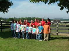 Lookaway Farm Summer Camp Group Photo